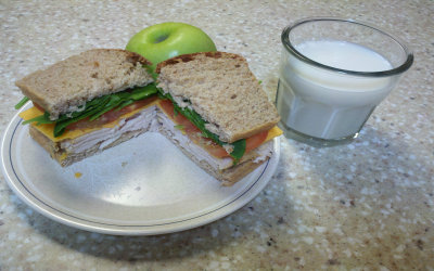 lunch - sandwich
