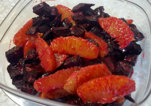 Oranges and beets